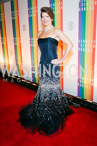 Norah O'Donnell. Photo by Alfredo Flores. 2013 Kennedy Center Honors. Kennedy Center. December 8, 2013.