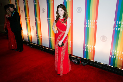 Anna Kendrick. Photo by Alfredo Flores. 2013 Kennedy Center Honors. Kennedy Center. December 8, 2013.