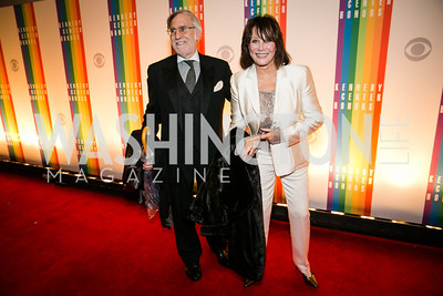 Fred Rappoport, Michele Lee. Photo by Alfredo Flores. 2013 Kennedy Center Honors. Kennedy Center. December 8, 2013.CR2