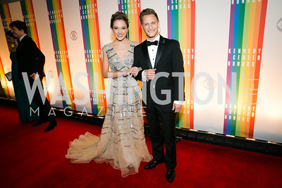 Laura Osnes. Photo by Alfredo Flores. 2013 Kennedy Center Honors. Kennedy Center. December 8, 2013.CR2
