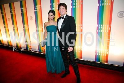Joshua Bell, Larisa Martinez. Photo by Alfredo Flores. 2013 Kennedy Center Honors. Kennedy Center. December 8, 2013.CR2