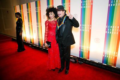 Carlos Santana. Photo by Alfredo Flores. 2013 Kennedy Center Honors. Kennedy Center. December 8, 2013.