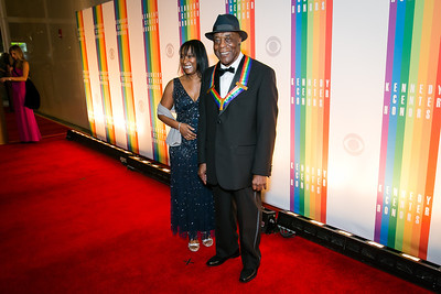 Carlise Guy, Buddy Guy. Photo by Alfredo Flores. 2013 Kennedy Center Honors. Kennedy Center. December 8, 2013.