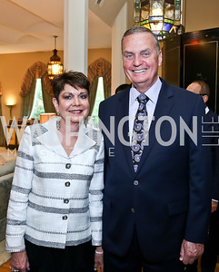 Diane and General Jim Jones. Photo by Tony Powell. 2013 Kuwait America Foundation Dinner. June10, 2013