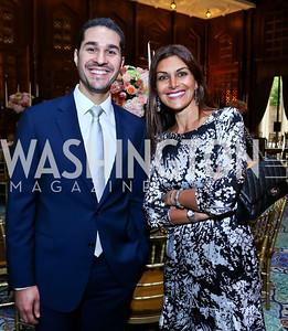Khaled Bader, Sharouq Sadeqi. Photo by Tony Powell. 2013 Kuwait America Foundation Dinner. June10, 2013