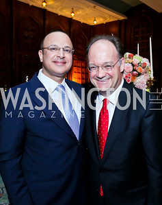 Paul Boulos, Jack DeGioia. Photo by Tony Powell. 2013 Kuwait America Foundation Dinner. June10, 2013