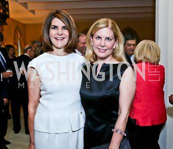 Jackie Duberstein, Lea Berman. Photo by Tony Powell. 2013 Kuwait America Foundation Dinner. June10, 2013
