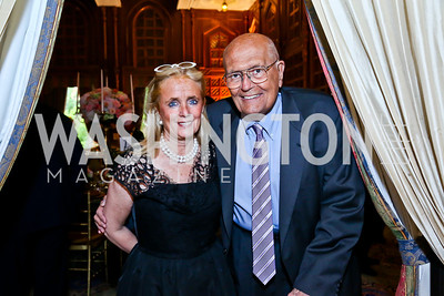Debbie Dingell and Rep. John Dingell. Photo by Tony Powell. 2013 Kuwait America Foundation Dinner. June10, 2013