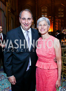 David and Susan Axelrod. Photo by Tony Powell. 2013 Kuwait America Foundation Dinner. June10, 2013