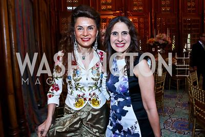 Sedi Flugelman, Basma Rayess. Photo by Tony Powell. 2013 Kuwait America Foundation Dinner. June10, 2013