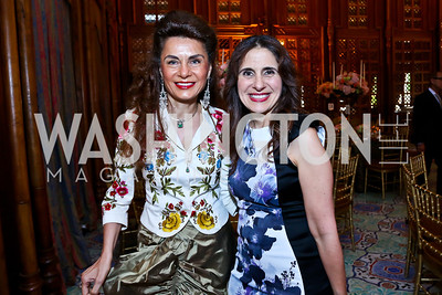 Sedi Flugelman, Basma Rayess. Photo by Tony Powell. 2013 Kuwait America Foundation Dinner. June10, 2013