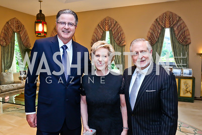 John Watson, Lisa Barry and Jim Gale. Photo by Tony Powell. 2013 Kuwait America Foundation Dinner. June10, 2013