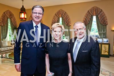 John Watson, Lisa Barry and Jim Gale. Photo by Tony Powell. 2013 Kuwait America Foundation Dinner. June10, 2013