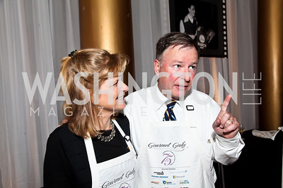 Jeanie and Rep. Doug Lamborn. Photo by Tony Powell. 2013 March of Dimes Gourmet Gala. Building Museum. April 16, 2013