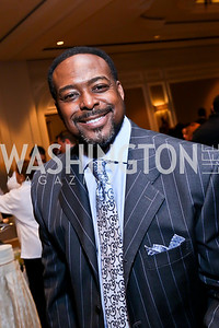 Emcee Leon Harris. Photo by Tony Powell. 2013 March of Dimes Signature Chefs Gala. Ritz Carlton. November 12, 2013