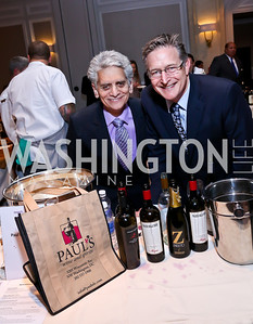 Paul's Liquor's Steve Bellman and Ron Brooks. Photo by Tony Powell. 2013 March of Dimes Signature Chefs Gala. Ritz Carlton. November 12, 2013