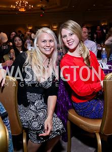 Nicole Wranik, Adrienne Embrey. Photo by Tony Powell. 2013 March of Dimes Signature Chefs Gala. Ritz Carlton. November 12, 2013