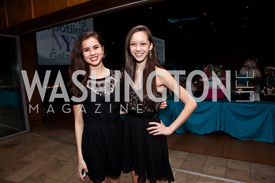Anna and Maya Beeman. Photo by Tony Powell. MYB Shining in the Spotlight Gala 2013. March 2, 2013