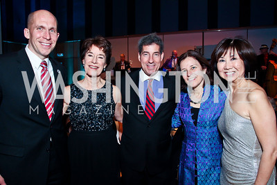 MD State Delegate Tom Hucker, MYB Principal Michelle Lees, MD Senator Jamie Raskin, Sarah, Maryland's Banking Commissioner Sarah Raskin, MYB Exec. Dir. Alyce Jenkins. Photo by Tony Powell. MYB Shining in the Spotlight Gala 2013. March 2, 2013