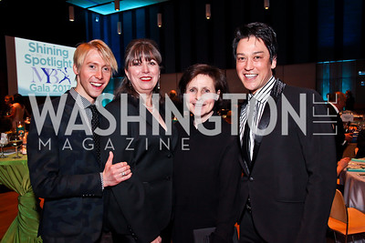 Jameson Freeman, Judy Hansen, Roxanne Littner, Dana Tai Soon Burgess. Photo by Tony Powell. MYB Shining in the Spotlight Gala 2013. March 2, 2013