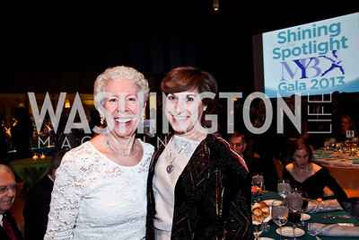Amanda Modlin, Lesley Shneier. Photo by Tony Powell. MYB Shining in the Spotlight Gala 2013. March 2, 2013