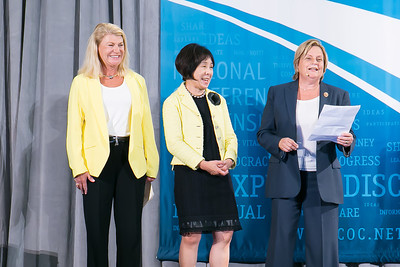 Ann Dunwoody, Rep. Doris Matsui, Rep. Ileana Ros-Lehtinen. Photo by Alfredo Flores. 2013 National Conference on Citizenship. United States Institute of Peace. September 19, 2013.