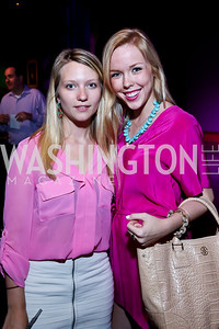 Claire Marfyak, Caroline Volz. Photo by Tony Powell. The Newsbabes Bash for Breast Cancer. The Hamilton. June 27, 2013