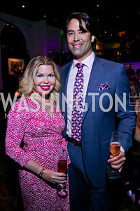 Drs. Noëlle Sherber and Ariel Rad. Photo by Tony Powell. The Newsbabes Bash for Breast Cancer. The Hamilton. June 27, 2013