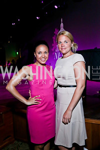 Ayanna Dunn, Marguerite Thompson. Photo by Tony Powell. The Newsbabes Bash for Breast Cancer. The Hamilton. June 27, 2013