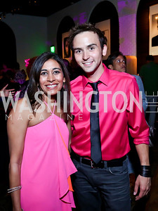 Anjali Varma, Tommy McFly. Photo by Tony Powell. The Newsbabes Bash for Breast Cancer. The Hamilton. June 27, 2013