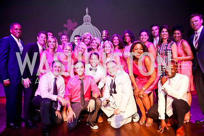Newsbabes. Photo by Tony Powell. The Newsbabes Bash for Breast Cancer. The Hamilton. June 27, 2013