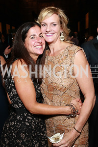 Molly Elkin, Katharine Weymouth. Photo by Alfredo Flores. 2013 PEN Faulkner Gala Renewal. Folger Shakespeare Library. October 7, 2013