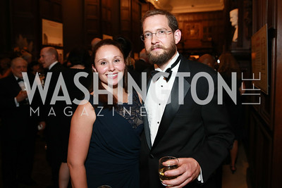 Amy Lancaster, Charles Lancaster III. Photo by Alfredo Flores. 2013 PEN Faulkner Gala Renewal. Folger Shakespeare Library. October 7, 2013