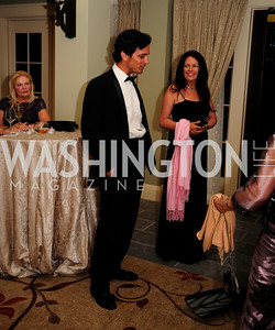 Gonzalo Novillo,Sally Anne Andrews,September 14,2013,2013 Polo Ball,Kyle Samperton