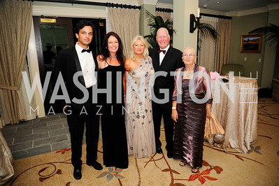 Gonzalo Novillo,Sally Anne Andrews,Debbie Nash,Allan Nash,Barbara French,September 14,2013,2013 Polo Ball,Kyle Samperton