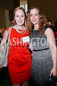 Karen Ressue, Andrea Gold. Photo by Tony Powell. Public Citizen Gala, Reagan Building. May 16, 2013