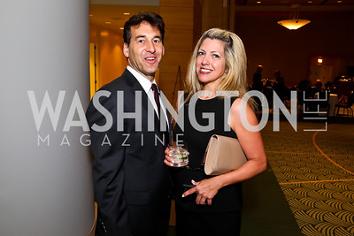 David Halperin, Karen Maravich. Photo by Tony Powell. Public Citizen Gala, Reagan Building. May 16, 2013