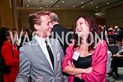 Edward Smith, Lourdes Turrecha. Photo by Tony Powell. Public Citizen Gala, Reagan Building. May 16, 2013