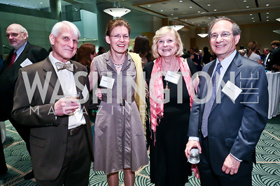 Carl and Undine Nash, Lucille Digges, Ed Cohen. Photo by Tony Powell. Public Citizen Gala, Reagan Building. May 16, 2013