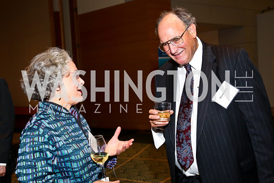 Andra Oakes, Harold Berk. Photo by Tony Powell. Public Citizen Gala, Reagan Building. May 16, 2013
