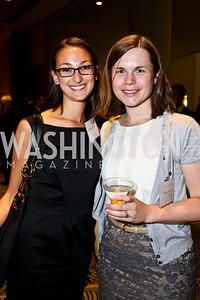 Mia Goschalk, Anna Haac. Photo by Tony Powell. Public Citizen Gala, Reagan Building. May 16, 2013