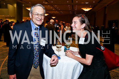 Brent Blackwelder, Stacy Palatt. Photo by Tony Powell. Public Citizen Gala, Reagan Building. May 16, 2013