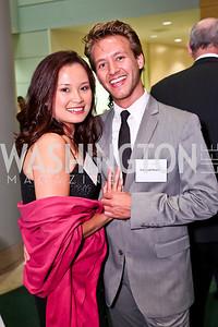 Lourdes Turrecha, Edward Smith. Photo by Tony Powell. Public Citizen Gala, Reagan Building. May 16, 2013