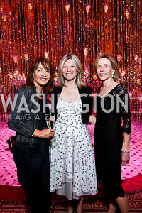 Nora Pouillon, Kay Kendall, Eden Rafshoon. Photo by Tony Powell. 2013 Shakespeare Theatre Company Annual Gala. Harman Center and Building Museum. October 6, 2013