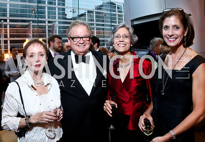 Barbara Boggs, Nick Allard, Liz Medaglia, Elizabeth Boggs. Photo by Tony Powell. 2013 Shakespeare Theatre Company Annual Gala. Harman Center and Building Museum. October 6, 2013