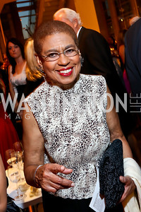 Rep. Eleanor Holmes Norton. Photo by Tony Powell. 2013 Shakespeare Theatre Company Annual Gala. Harman Center and Building Museum. October 6, 2013