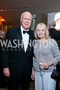 Sen. Patrick Leahy and Marcelle Leahy. Photo by Tony Powell. 2013 Shakespeare Theatre Company Annual Gala. Harman Center and Building Museum. October 6, 2013