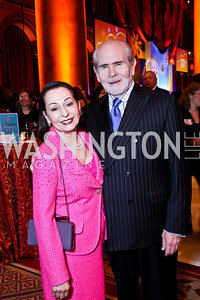 Loretta and Gerry Cassidy. Photo by Tony Powell. So Others Might Eat Gala 2013. Building Museum. November 23, 2013