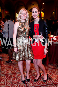 Katie Hughes, Hannah Molofsky. Photo by Tony Powell. So Others Might Eat Gala 2013. Building Museum. November 23, 2013