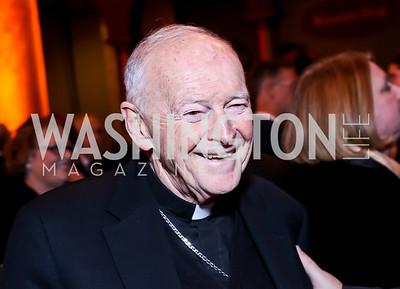 Archbishop Emeritus of Washington Cardinal Theodore McCarrick. Photo by Tony Powell. So Others Might Eat Gala 2013. Building Museum. November 23, 2013